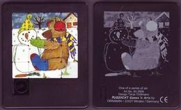 Taquin - Pousse Pousse - Ours Et Bonhomme De Neige - PUSSYCAT - Brain Teasers, Brain Games