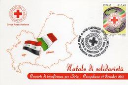 Campobasso 2013 - Natale Di Solidarietà Con La Croce Rossa Italiana - - Croce Rossa