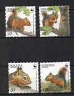 ARMENIE  Timbres Neufs ** De 2001  ( Ref 10 M )  Animaux - écureuils - Arménie