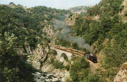 LIGNE TOURNON-LAMASTRE - Les Gorges Du Doux Au Passage Des étroits - France