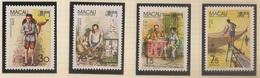 Macau Portugal China Chine 1990 - Profissões Tipicas - Traditional Occupations - Set Complete - MNH/Neuf - Neufs