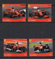 GAMBIE  Timbres Neufs ** De 2012  ( Ref 17 A )  Sport Automobile -  Ferrari - Voir Descriptif - Gambie (1965-...)