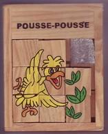 Taquin En Bois - Pousse Pousse - Oiseau - Brain Teasers, Brain Games