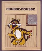 Taquin En Bois - Pousse Pousse - Tigre - Brain Teasers, Brain Games