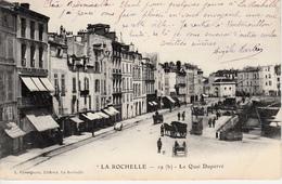LA ROCHELLE  LE QUAI DUPERRE - La Rochelle