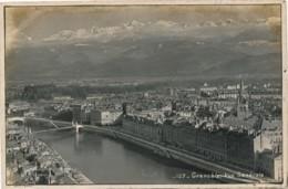 H165 - 38 - GRENOBLE - Isère - Carte Photo - Vue Générale - Grenoble