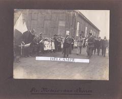 SAINTE MARIE AUX CHÊNES Juillet 1919 - Photo Originale De La Visite De Mr MILLERAND Des Usines De Lorraine ( Moselle ) - Lugares