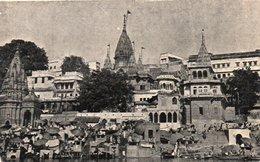 MANIKARNIKA GHAT-VARANASI-VIAGGIATA 1967 - India