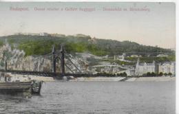 AK 0052  Budapest - Donaubild Mit Blocksberg Um 1907 - Ungarn