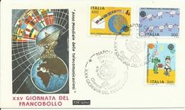 Italia 1983, XXV Giornata Del Francobollo (o), Fdc Roma - FDC