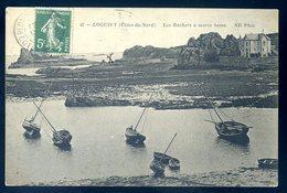 Cpa Du 22 Environs  De Paimpol --  Loguivy -- Les Rochers à Marée Basse   SEPT18-32 - Paimpol