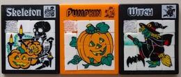3 Taquins - Pousse Pousse -  Série Halloween - Brain Teasers, Brain Games