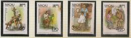 Macau Portugal China Chine 1991 - Profissões Tipicas - Traditional Occupations - Set Complete - MNH/Neuf - Neufs