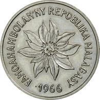 Monnaie, Madagascar, 5 Francs, 1966, Paris, ESSAI, FDC, Stainless Steel, KM:E8 - Madagascar
