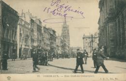 33 BORDEAUX / Rue Duffour Dubergier / - Bordeaux