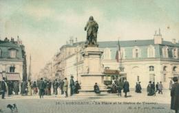 33 BORDEAUX / La Place Et La Statue De Tourny / - Bordeaux