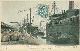 33 BORDEAUX / Les Quais Des Docks / - Bordeaux