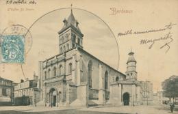 33 BORDEAUX / L'Eglise Saint Seurin / - Bordeaux