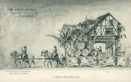 33 BORDEAUX / Fête Des Vendanges - Char Des Graves / Gravure / - Bordeaux