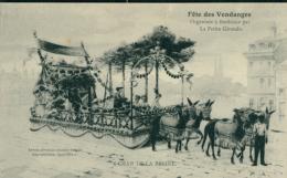 33 BORDEAUX / Fête Des Vendanges - Char De La Resine / Gravure / - Bordeaux