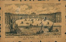 33 BORDEAUX / Place De Bourgogne / Gravure / - Bordeaux