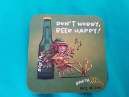 SOUS BOCK BIÈRE Trolls Rasta - Beer Mats