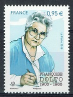 France, Françoise Dolto, French Pediatrician And Psychoanalyst, 2018, MNH VF - Unused Stamps