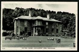 Ref 1230 - Raphael Tuck Real Photo Postcard - Mary Bamber Home Rhos-on-Sea - Denbighshire Wales - Denbighshire