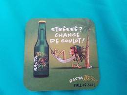 SOUS-BOCKS RASTA TROLLS - Beer Mats