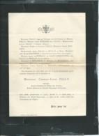 Poitiers   / F.P. Décès De M Charles-Louis Pallu , Avocat , Le 10/04/1897-  Lot20207 - Décès