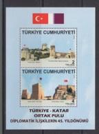 7.- TURKEY 2018 JOINT ISSUE TURKEY WITH KATAR - Emissions Communes