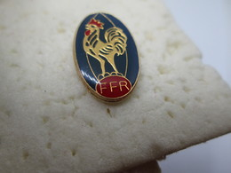 PIN'S   F F R  RUGBY - Rugby
