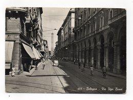 Bologna - Via Ugo Bassi - Animata - Non Viaggiata - (FDC12473) - Bologna