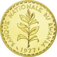 Monnaie, Rwanda, 50 Francs, 1977, Paris, ESSAI, FDC, Laiton, KM:E7 - Rwanda