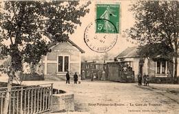 SAINT-PARDOUX-LA-RIVIERE LA GARE DU TRAMWAY - Autres Communes