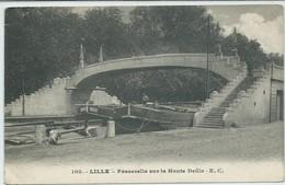 Lille-Passerelle Sur La Haute Deule (Légère Corne D'angle Haut Et Bas à Gauche,voir Scan)  (CPA) - Lille