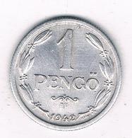 1 PENGO 1942 HONGARIJE /6695/ - Hungary