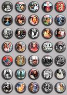 SHEILA Music Fan ART BADGE BUTTON PIN SET 3 (1inch/25mm Diameter) 35 DIFF - Musique