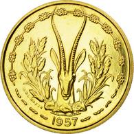 Monnaie, French West Africa, 25 Francs, 1957, Paris, ESSAI, SPL - Togo