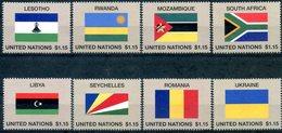ONU New-York 2018 - Drapeaux Flags Flaggen ** - New York – UN Headquarters