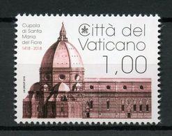 VATICANO 2018 - 600° Anniversario Della Cupola Di S.Maria Del Fiore Serie Cpl. 1v. Nuovi** Perfetti - Unused Stamps