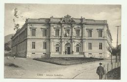 LUINO - PALAZZO SCOLASTICO 1927  VIAGGIATA FP - Varese