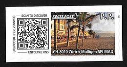 Swiss Post - CH-8010 Zürich-Mulligen - Oblitérés