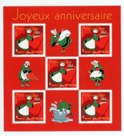 Valeur Faciale -20% : Joyeux Anniversaire - Bécassine - 2005 - Y&T BF83 - Sheetlets