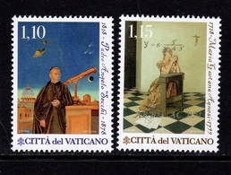 VATICANO 2018 - Scienza E Fede M.G.Agnesi - Padre A. Secchi Serie Cpl. 2v. Nuovi** Perfetti - Unused Stamps