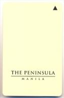 The Peninsula Hotel, Manila, Philippines, Used Magnetic Hotel Room Key Card,  #  Peninsula-1 - Hotel Keycards