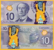 Canada 10 Dollars P-107 2013 Sign. Wilkins & Poloz UNC - Canada