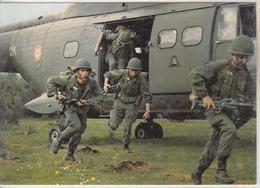 Section De Parachutistes Héliportée - Elicotteri