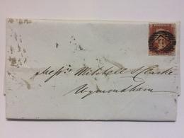 GB - Victoria 1846 Entire To Wymondham Norfolk - 1840-1901 (Regina Victoria)