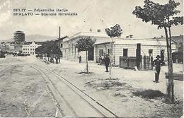 1918 - SPLIT  Zeljeznicka Stacija, 2 Scan - Croatie